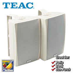 Teac All-Weather Speakers  Model# LS-X55-W