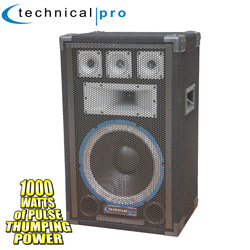 Technical Pro 5-Way Speaker  Model# VRTX12