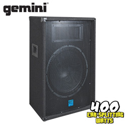 Gemini 12 inch Carpeted Speaker  Model# GT-1204