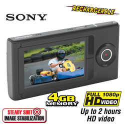 Sony Bloggie 1080P HD Camcorder  Model# MHSF1