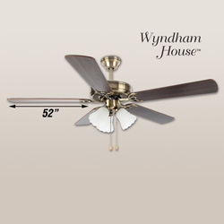 Wyndham House 52 inch Ceiling Fan&nbsp;&nbsp;Model#&nbsp;HHCFA52