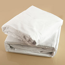 White Microfiber Sheet Set - Full - Size: Full