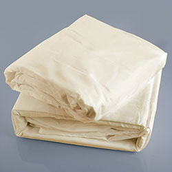 Ivory Microfiber Sheet Set - Full - Size: Full