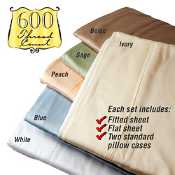 Luxurious 600 Thread Count Plush Sheet Set