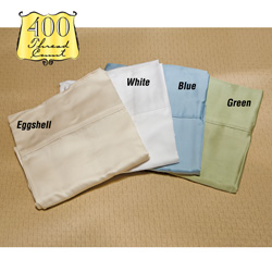 Wamsutta King Eggshell Sheets  Model# COMFORT SOFT-KING