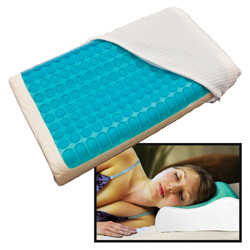 Memory Foam Cool Gel Pillow  Model# MFPGL