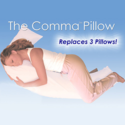 The Comma Pillow  Model# 200040
