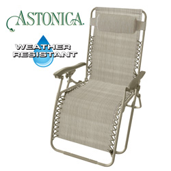 Beige Gravity Chair  Model# 50104384-BEIGE