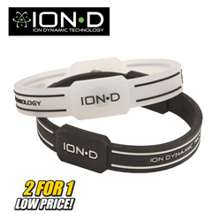 2 Pack Ion-D Bracelets