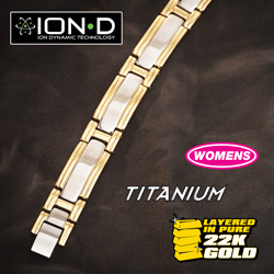 Small Link ION-D Bracelet&nbsp;&nbsp;Model#&nbsp;T665-SM LINK