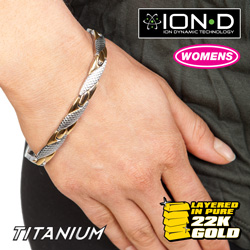 Large Link ION-D Bracelet  Model# T665-LG LINK