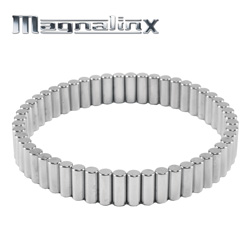Silver Magnalinx Magnet Bracelet&nbsp;&nbsp;Model#&nbsp;14000
