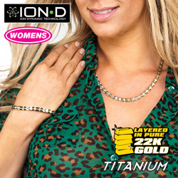 Small Link ION-D 2-Pc. Jewelry Set