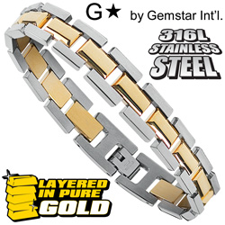Gemstar Cable Link Bracelet&nbsp;&nbsp;Model#&nbsp;HSB-3414