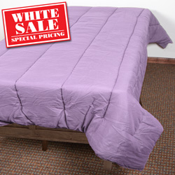 Twin Down Alternative Comforter - Eggplant  Model# 4NT492EP0010-EGGP
