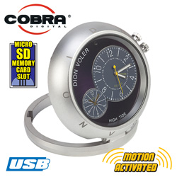 Cobra Digital Camera Desk Clock  Model# DSP500