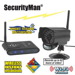 Digital Wireless Camera & DVR System  Model# DIGIAIR-SD