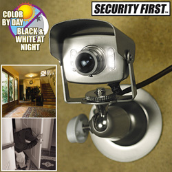 Mini Color Indoor/ Outdoor Camera  Model# SFC-1381