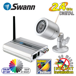 Swann Wireless Color Camera & Receiver  Model# SW231-WOC-14110