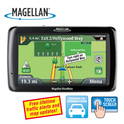 Magellan Roadmate 5045LM GPS&nbsp;&nbsp;Model#&nbsp;RM5045RGLUC