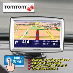 TomTom GPS XXL-530&nbsp;&nbsp;Model#&nbsp;XXL-530