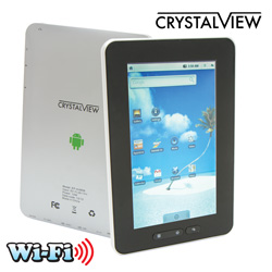 Crystal View Android Tablet  Model# EP-4/4858