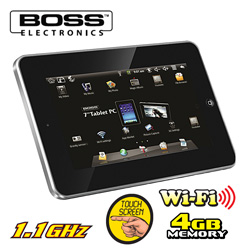 Boss 7 inch Android 2.2 Touch Tablet  Model# 2200-REFURB.