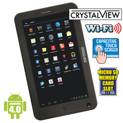 7Inch Android Tablet with Digital Cam  Model# TB4-4/5580