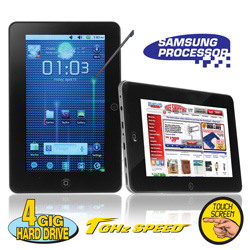 1GHz 7 inch Android 2.2 Tablet