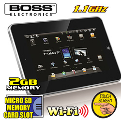 Boss 7 Inch Tablet PC  Model# 2200Q