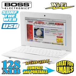 Crystal View 10 inch Netbook  Model# NB-4/5513