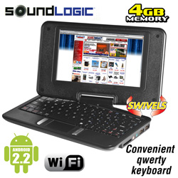 Netbook with Swivel and Touch&nbsp;&nbsp;Model#&nbsp;NBS-4/5534
