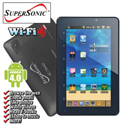 SuperSonic 7 Inch Tablet with Android  Model# SC-72MID