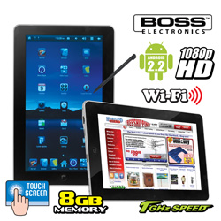 Boss 10.1 Inch Tablet&nbsp;&nbsp;Model#&nbsp;3120