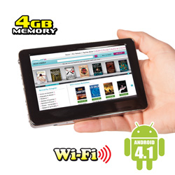 4.3 inch Mini Tablet  Model# ID431WTA
