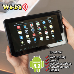 10.1Inch Android Tablet  Model# ID1018WTA