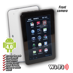 Cyberus 7 inch Android 4.0 Tablet  Model# ID720WTA