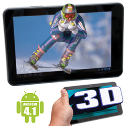 Inferno 8 inch 3D Tablet  Model# 2890