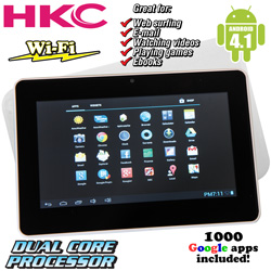 7 inch 16GB Dual Core Tablet  Model# 16GBP774A-WT