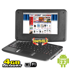 7 inch Netbook/Tablet Combo  Model# NBS-4/1190-RB