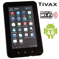 Tivax MiTraveler 7 inch Tablet  Model# 7D4A