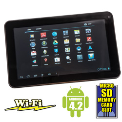 7 inch Dual Core Tablet  Model# EM63-BLK