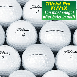 24 Pack Recycled Pro V1/ V1X Golf Balls  Model# PREG24T2VM
