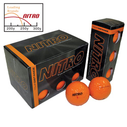 36 Pack Nitro Golf Balls&nbsp;&nbsp;Model#&nbsp;NTD12OBXC