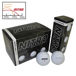 36 Pack Nitro Golf Balls&nbsp;&nbsp;Model#&nbsp;NTD12WBXC