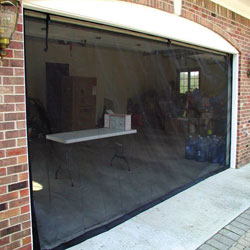 Kitty Mac  Garage Door Screen&nbsp;&nbsp;Model#&nbsp;1231-167