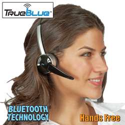 Turn-to-Talk Bluetooth Headset  Model# TB-100T3