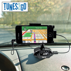 Hands-Free Kit/FM Transmitter  Model# HFM1206
