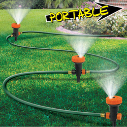 Portable Sprinkler System&nbsp;&nbsp;Model#&nbsp;1526