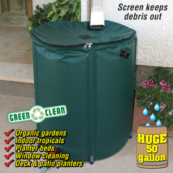 Collapsible Rain Barrel&nbsp;&nbsp;Model#&nbsp;4495